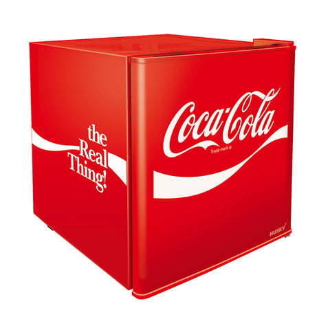 Husky 46L Coca-Cola Solid Door Bar Fridge CKK50-207-AU-HU - OzCoolers