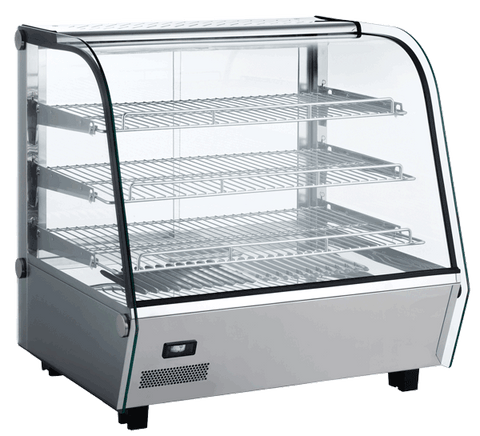 Exquisite Heated Counter Top Display Cabinet 120L - CTW120