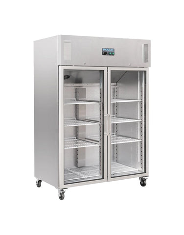 Polar G-Series Upright Double Door Gastro Display Fridge 1200Ltr - CW198-A