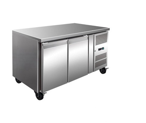 FED TROPICALISED 2 Door Gastronorm Bench Fridge - GN2100TN