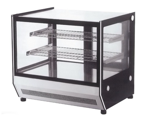 FED Counter top square glass cold food display - GN-660RT