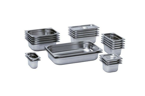 Mixrite 201 Stainless Steel GN Pans