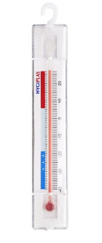 Hygiplas Hanging Fridge Freezer Thermometer