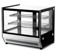 FED Counter Top Square Glass Hot Food Display - GN-660HRT