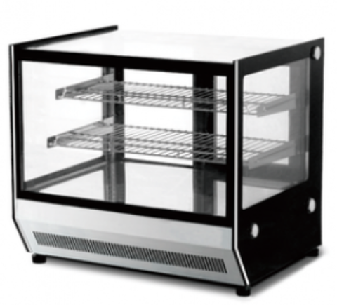 FED Counter Top Square Glass Hot Food Display - GN-900HRT