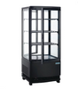 Image of Polar C-Series Curved Door Display Fridge Black 86Ltr - DP288-A