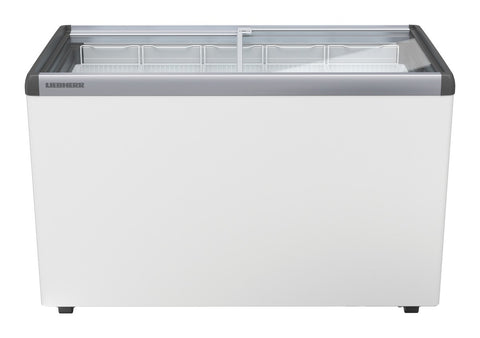 Liebherr Flat Sliding Glass Lid Chest Freezer 369L - EFE 3852