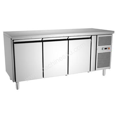 Exquisite Three Solid Doors Underbench Freezer 700mm deep - USF400H