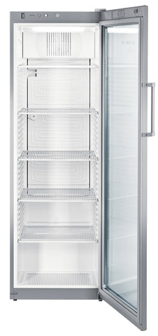 Liebherr Single Glass Door Upright Drinks fridge 388 Liters - FKVSL 4113