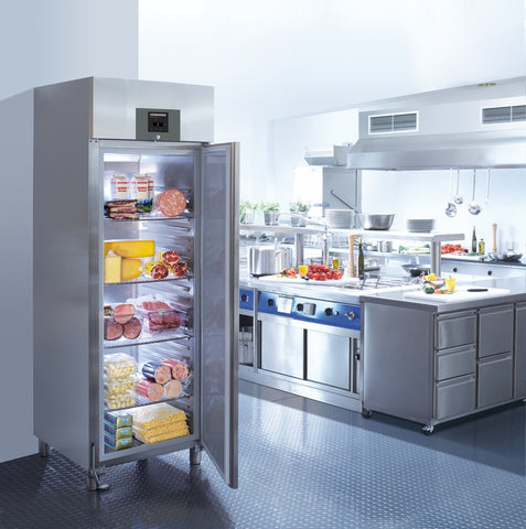 Liebherr GKPv 6590 Stainless Steel Solid 1 Door Fridge