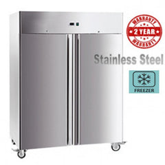 Exquisite Double Door Stainless Steel Freezer 1410 litres - GSF1410H