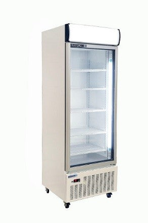 Huxford 1 Door Vertical Display Refrigerator - HSM22 600L - OzCoolers