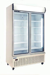 Huxford 2 Door Vertical Display Refrigerator - HSM40 1130L - OzCoolers
