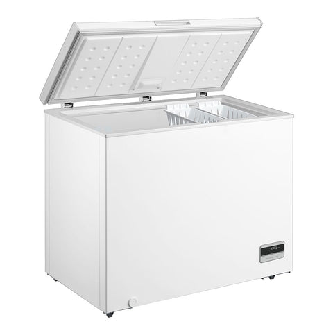 Husky 198L Solid Door Chest Freezer in White - HUS-198CHE