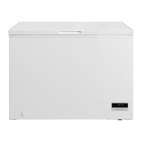 Husky 295L Solid Door Chest Freezer in White - HUS-295CHE
