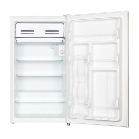 Husky 95L Solid Door Under Counter Fridge in White - HUS-95WH