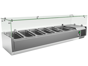 Exquisite Counter Top Preparation Chiller Chiller - ICT1500