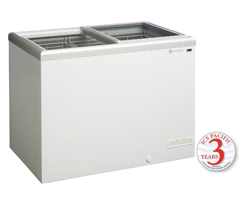 Glass Sliding Lid ICS Pacific IG 3 304 Ltr - OzCoolers