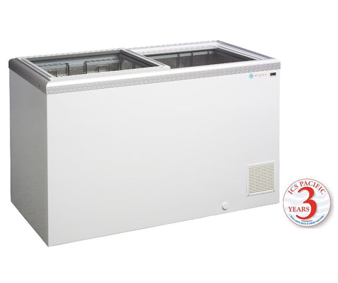Glass Sliding Lid ICS Pacific IG 4 393 Ltr - OzCoolers