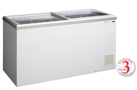 Glass Sliding Lid ICS Pacific IG 5 441 Ltr - OzCoolers