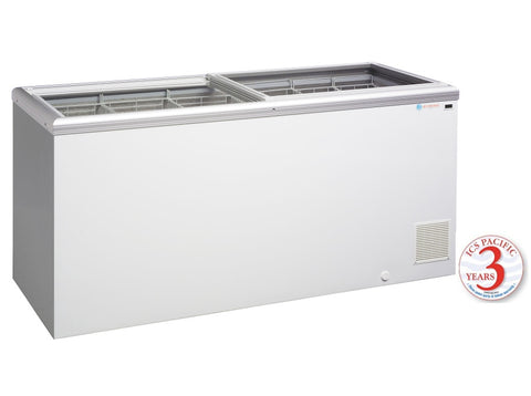 Glass Sliding Lid ICS Pacific IG 6 509 Ltr - OzCoolers