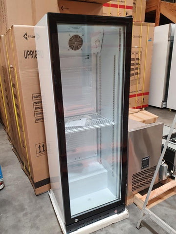 Crusader 1 Glass Door Beverage Refrigerator - CCE210FB
