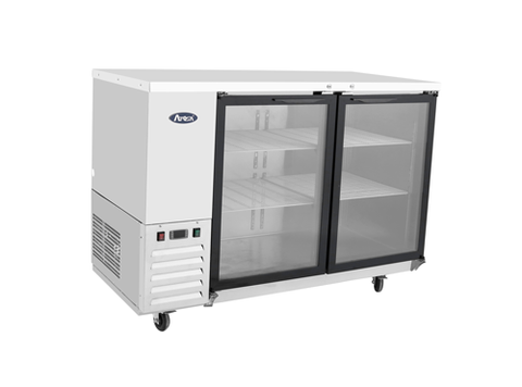 Atosa Refrigerated Back Bar Cooler With Glass Door - MBB59G