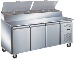 Exquisite Sandwich Pizza Prep Bench Fridge - MTC363H