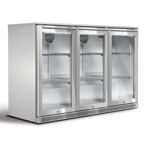 Husky Alfresco 3 Glass Door Bar Fridge 307 Litre - ALF-C3-840 - OzCoolers