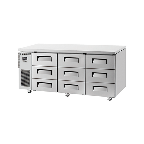 SKIPIO Undercounter Drawer Fridge - 538L - SUR18-3D-9