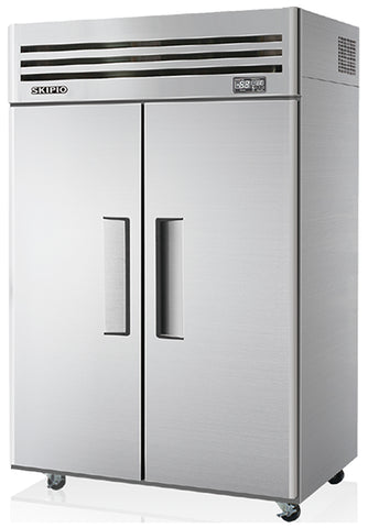 SKIPIO 2 Solid Door Upright Fridge - 2 Doors - SRT45-2