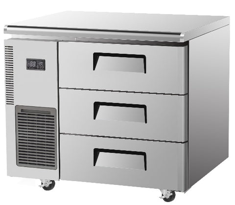SKIPIO Undercounter Drawer Fridge - 198L - SUR9-3D-3