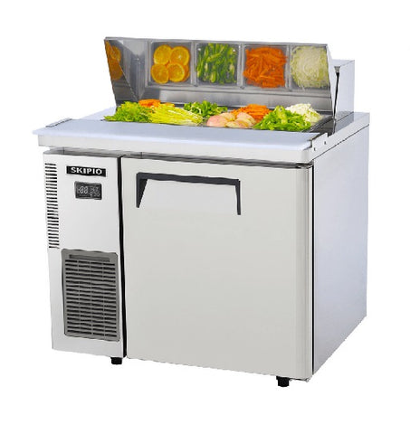 SKIPIO Salad Prep Table 1 Door Hood Lid - SHR9-1