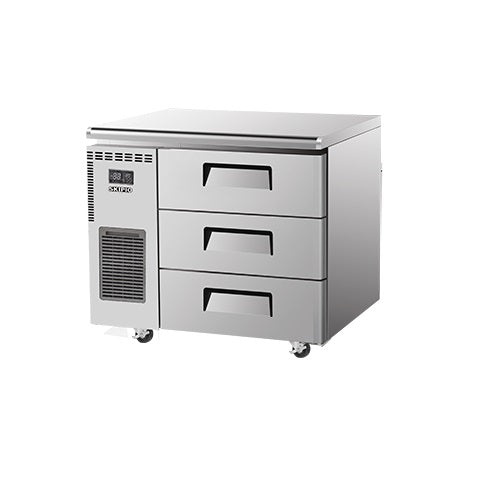 SKIPIO Undercounter Drawer Freezer - 198L - SUF9-3D-3