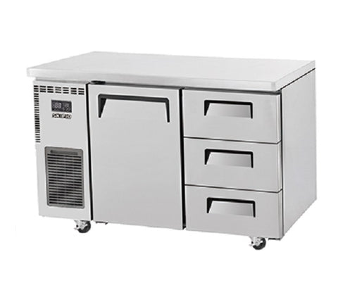 SKIPIO Undercounter Drawer Fridge - 311L - SUR12-3D-3