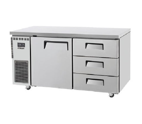 SKIPIO Undercounter Drawer Freezer - 425L - SUF15-3D-3