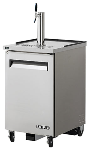 SKIPIO 1 Door Beer Dispenser Fridge - TBD-1SD