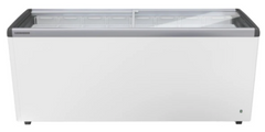 Liebherr Flat Glass Slide Lid 593 Liters Chest Freezer - EFE 6052