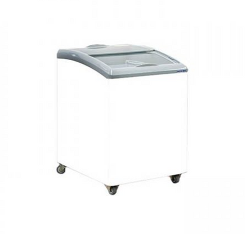 Exquisite Curved Glass Chest Freezer - SD151