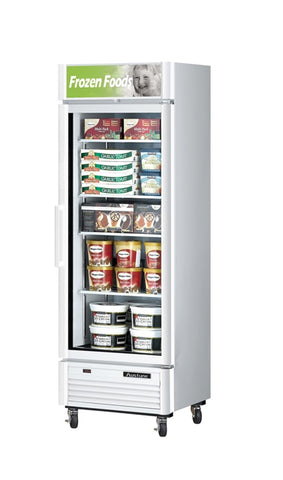 Austune Turbo Air Display Glass Door Freezer - TGF-15SD (W) (B) - OzCoolers