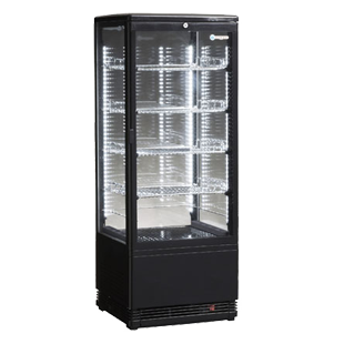 ICS PACIFIC Venice Tower Glass Display Refrigerator - OzCoolers