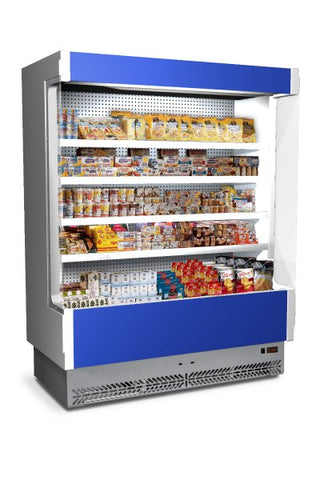 Euro Chill Open Display Fridge - VULCANO 80