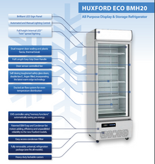 Huxford ECO Commercial Fridge 595 Ltr - BMH20