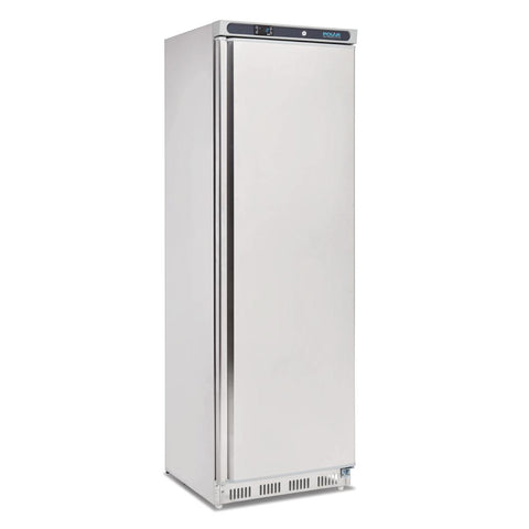 Polar Single Door Freezer 365Ltr Stainless Steel CD083-A - OzCoolers