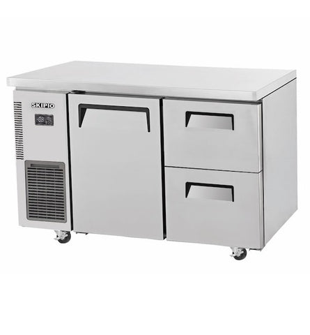 SKIPIO Modular 1 Door 2 Drawer Undercounter Freezer - SUF12-2D-2