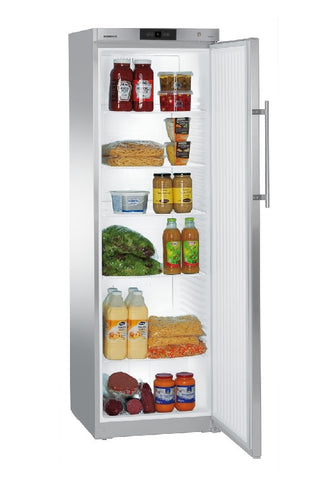 Liebherr GKv 4360 Stainless Steel Solid 1 Door Fridge