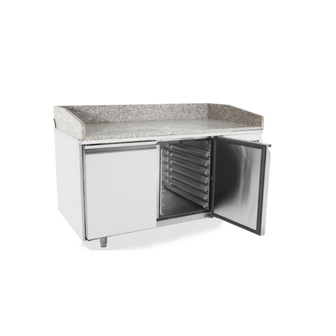 Atosa 2 Door Refrigerated Pizza Table 1510mm - EPF3495
