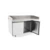 Image of Atosa 2 Door Refrigerated Pizza Table 1510mm - EPF3495