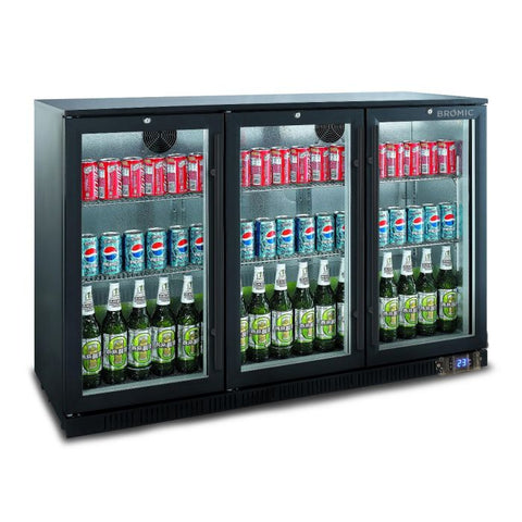 Bromic Back Bar Display Chiller 307L Hinged Door - BB0330GD - OzCoolers