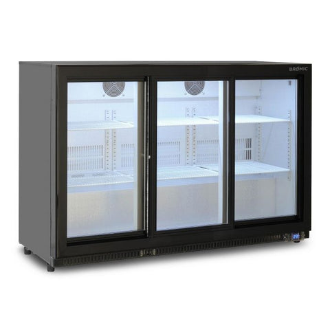 Bromic Back Bar Display Chiller 307L Sliding Door - BB0330GDS - OzCoolers